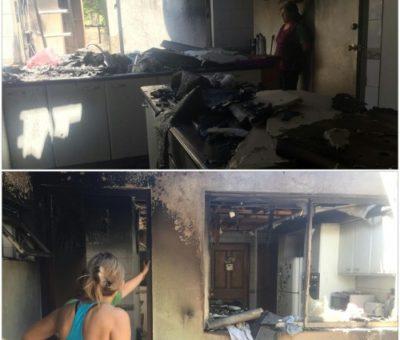 Recalentamiento de calefonts originó incendio en casa del sector El Peñón en Panquehue