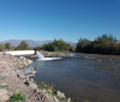 Codelco Andina inyecta agua de pozos al río Aconcagua para paliar sequía