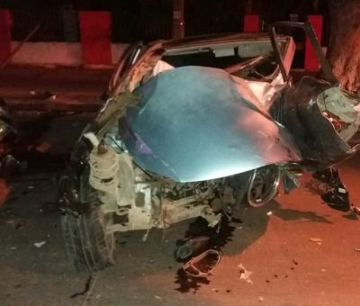 Joven de 29 años muere en colisión vehicular en pleno centro de Santa María