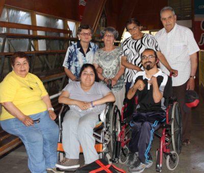 En Los Andes adultos mayores y discapacitados disputan primer torneo comunal de bochas
