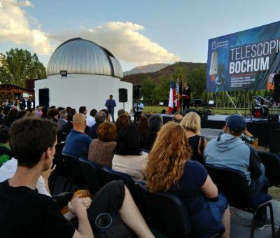 Con inauguración del Telescopio Bochum Calle Larga tiene el observatorio astronómico más importante de la región
