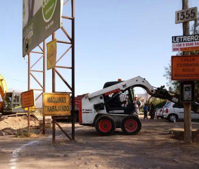 Con inversión de 6 mil millones partieron obras de avenida Hermanos Carrera Norte en San Felipe