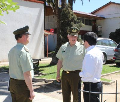 Carabineros evalúa construcción de nuevo Retén en Panquehue