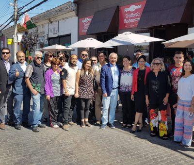 Paseos navideños de calle Prat no están libres de controversia en San Felipe