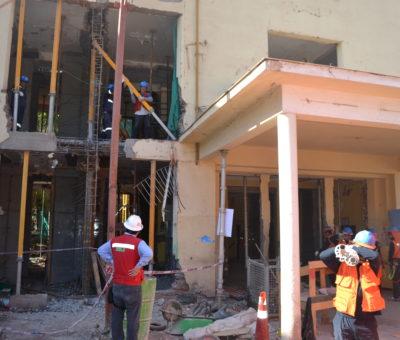 Empresa Acciona retoma obras en el hospital psiquiátrico de Putaendo