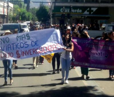 Más de 120 funcionarios de jardines infantiles Integra en Aconcagua siguen en Paro nacional