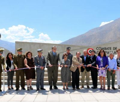 Inauguran monumento del Combate de Achupallas y homenaje al arriero Justo Estay en Putaendo