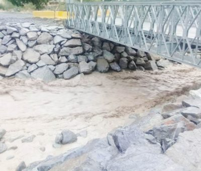Emergencia en Rio Colorado por reparación de sistema de agua potable rural
