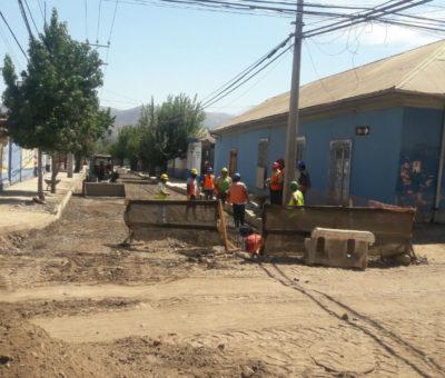 En mayo culminará pavimentación de calle Abraham Ahumada en San Felipe
