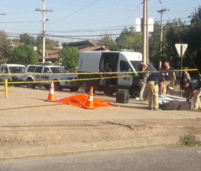 Suboficial en retiro de Carabinero se suicidó de un tiro en plena avenida Yungay en San Felipe