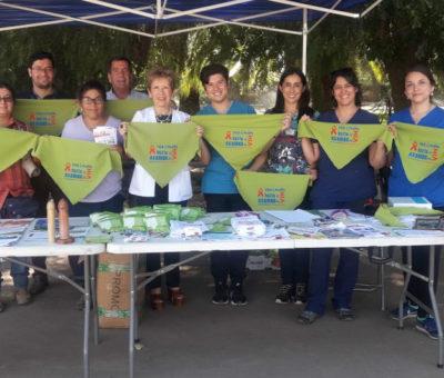 Autoridades piden practicarse Test Rápido de VIH en recintos de atención primaria de Aconcagua