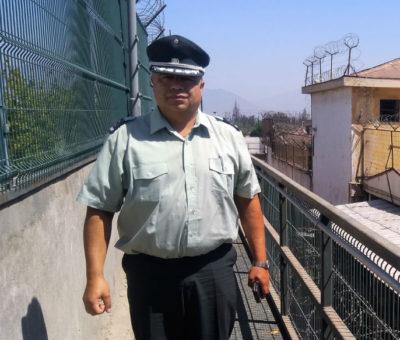 Aconcagüino asumió como nuevo jefe de la cárcel de Los Andes