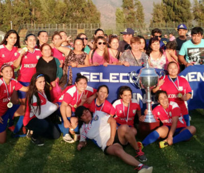 Rinconada se coronó Campeón Regional de Fútbol Femenino goleando en la final a Valparaíso