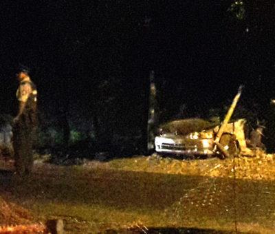 Joven mujer de 21 años muere al chocar auto que se dio a la fuga de Carabineros  en Rinconada