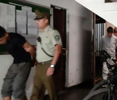 480 mil pesos se llevan como botín 8 delincuentes que asaltaron peaje Las Vegas en Llay Llay