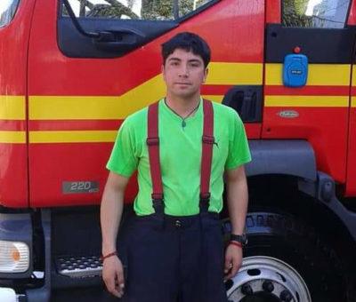Murió joven bombero atropellado en San Esteban