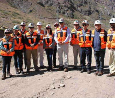 Concejales de Los Andes visitan División Andina para conocer medidas tras incidente ambiental de enero