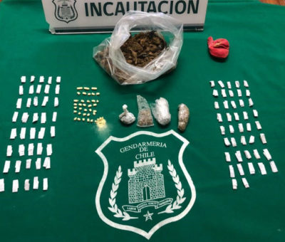 En cárcel de Los Andes detectan segundo ingreso de drogas de este año