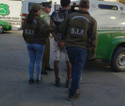 Por peligro de fuga dejan en prisión preventiva a ciudadano haitiano detenido robo de 14 millones en Rinconada de Silva