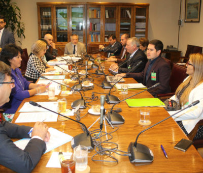 Alcalde de Panquehue pide un embalse cabecera del rio Aconcagua ante Comisión Hídrica del Senado