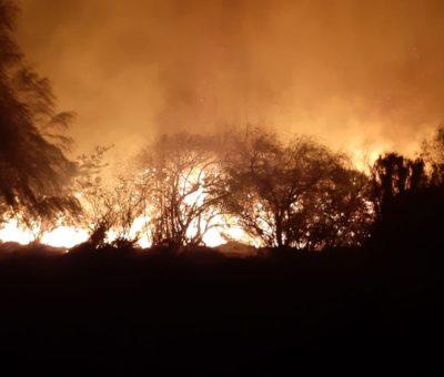 Bomberos advierte que no concurrirán más a incendios de pastizales en villa Santa Teresa en San Felipe