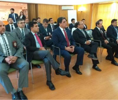 PDI realiza encuentro con policía Argentina y Paraguay en Panquehue para abordar delitos transnacionales