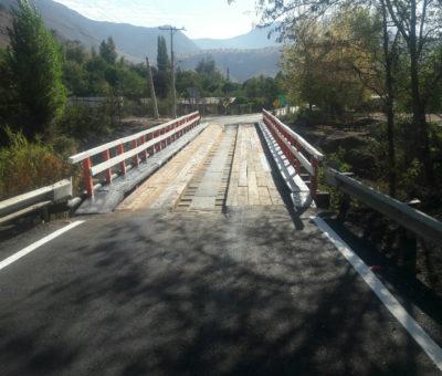 Vialidad abre al uso público nuevamente puente de Tierras Blancas