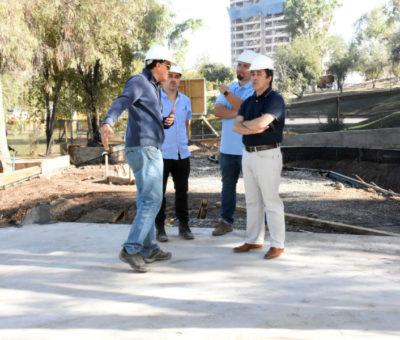 Con una inversión de $85 millones construyen moderno skate park en Los Andes