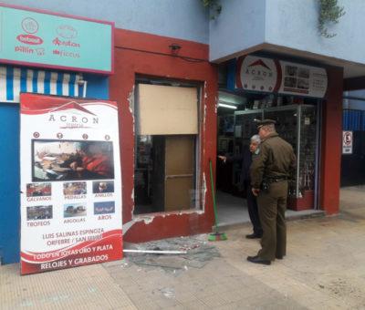 Más de 2 millones en joyas como botín consiguieron delincuentes en robo a joyería Acron en San Felipe