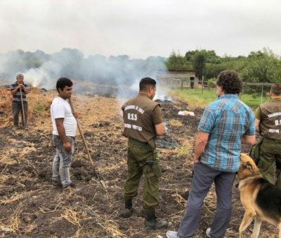 CONAF extiende hasta el 30 de abril prohibición de quemas agrícolas en la región