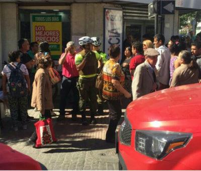 "Detienen a hombre en pleno centro de San Felipe acusado de grabar con celular ""trasero"" a joven mujer"