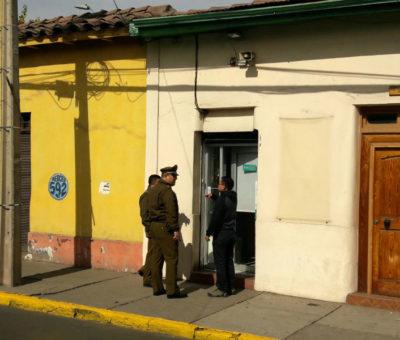 Solitario delincuente robo 12 millones en alhajas de céntrica joyería en San Felipe