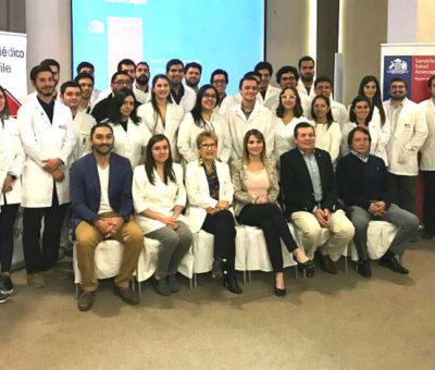 Servicio de Salud Aconcagua recibió a nuevos médicos en etapa de destinación y formación