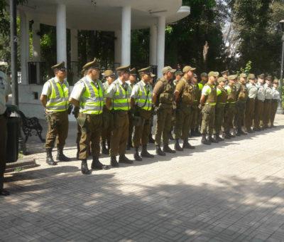 Ronda masiva de Carabineros en provincia de San Felipe dejó 20 detenidos