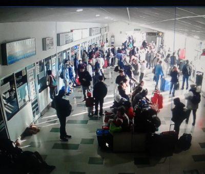 """Pullman Bus dejó """"botados"""" a decenas de aconcagüinos en Terminal Rodoviario de San Felipe"""