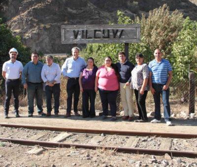 En Los Andes estación ferroviaria de Vilcuya será restaurada con apoyo de Codelco Andina