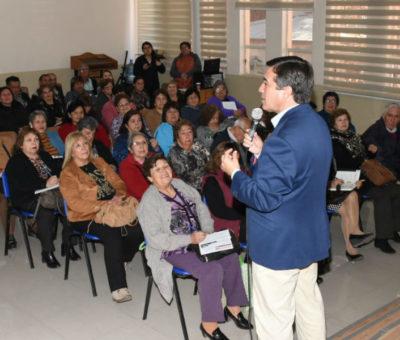 Municipalidad de Los Andes aumenta subvención para clubes de adultos mayores