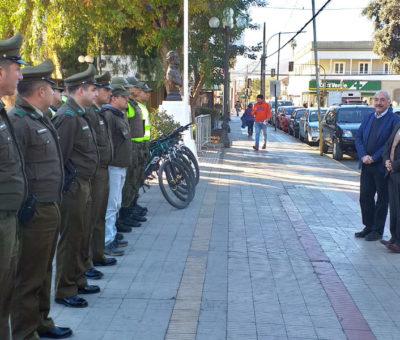 Carabineros aumentará presencia policial contra la delincuencia en el centro de San Felipe