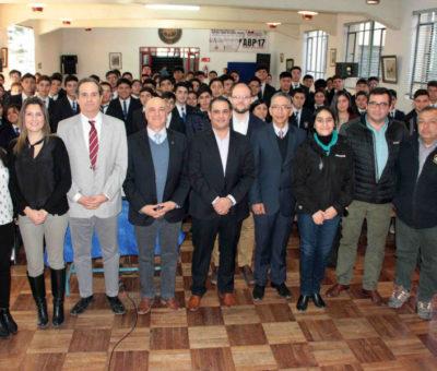 Codelco Andina renueva convenios con Liceos técnicos de Aconcagua