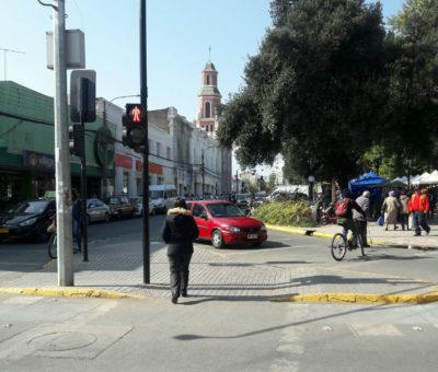 Por Plan Maestro de Gestión de Tránsito ahora eliminarán islas peatonales de la plaza de armas de San Felipe