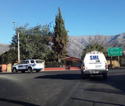 Conmoción por suicidios de una adolescente en Putaendo y Gerente de Seguridad de Codelco en Rinconada
