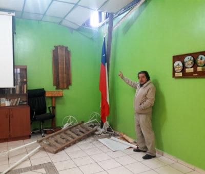 Delincuentes robaron sede del Club Auca en pleno centro de San Felipe