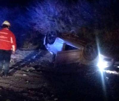 Fatal volcamiento de auto en By Pass El Sauce – Auco en la Autopista Los Libertadores