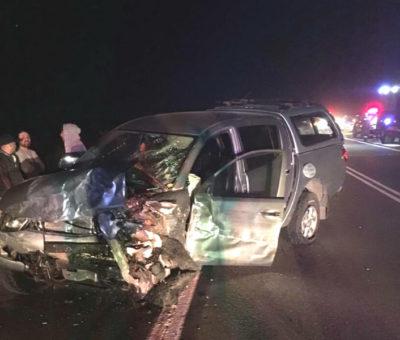 Un muerto y nueve heridos dejó triple colisión en autopista Los Andes