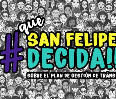 """Piden a la autoridad Consulta Ciudadana para """"suspender"""" Plan Maestro de Gestión tránsito en San Felipe"""