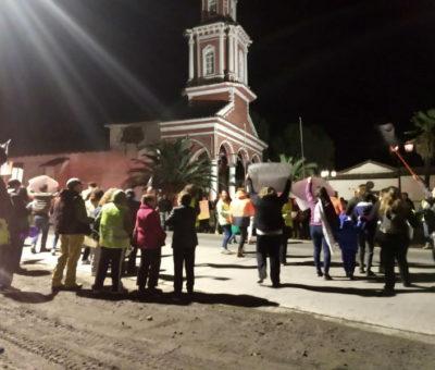 Más de 200 vecinos marcharon por la Dignidad de Curimón