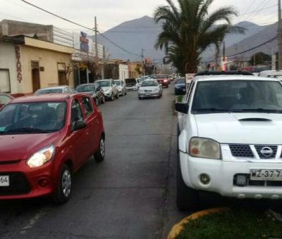 Vialidad no eliminará estacionamientos en avenida Maipú en San Felipe por obras en Ruta E-71