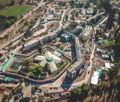 Un 60 por ciento de avance alcanzan obras de mejoramiento del hospital psiquiátrico de Putaendo