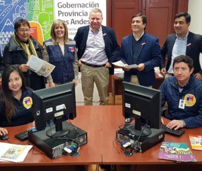 SERVIU inaugura oficina de atención en la provincia de Los Andes
