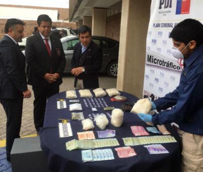 PDI desbarata organización dedicada al tráfico de drogas en Los Andes